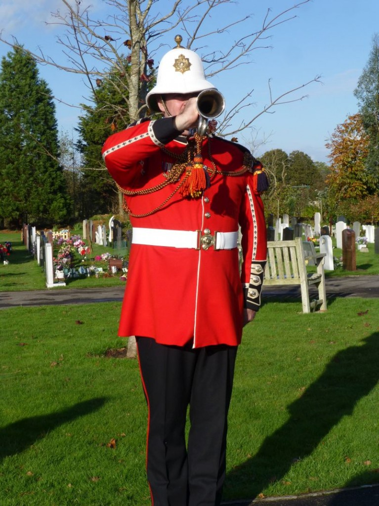 Bugler on November 11