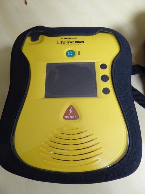 The defibrillator. – E. D.